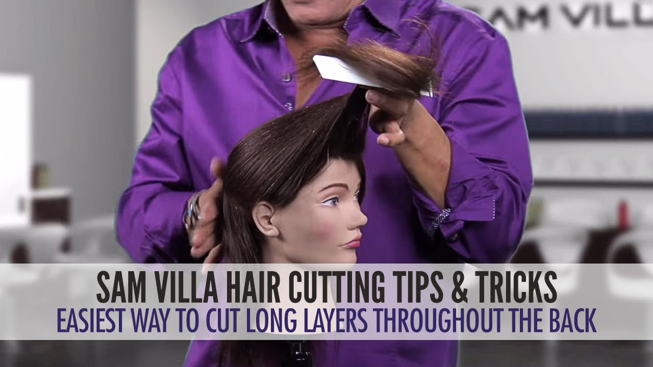 Best ideas about How To Cut Layers In Long Hair Yourself . Save or Pin Easiest Way To Cut Long Layers Throughout The Hair Now.