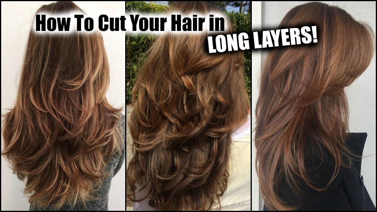 Best ideas about How To Cut Layers In Long Hair Yourself . Save or Pin Layered Long Hairstyles How to Style and Wear Fashion Now.