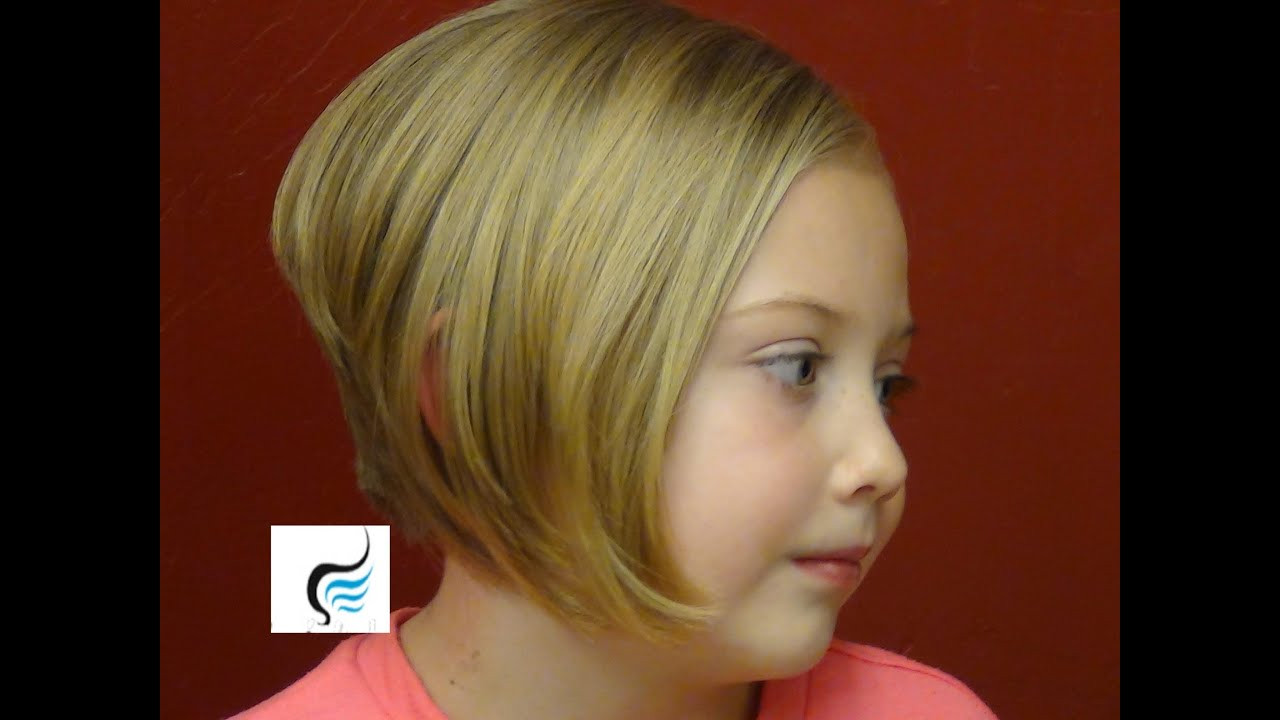 How To Cut Little Girl Hair  How to Style Stacked Bob Cut Aline Hairstyles Little