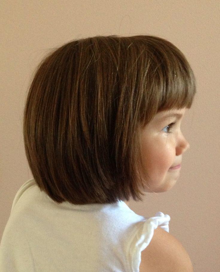 How To Cut Little Girl Hair  Little girl haircut Bob hair cut Shorter hairstyles for