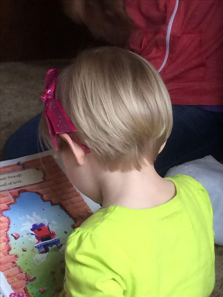 How To Cut Little Girl Hair  Little girl short pixie cut hairstyle