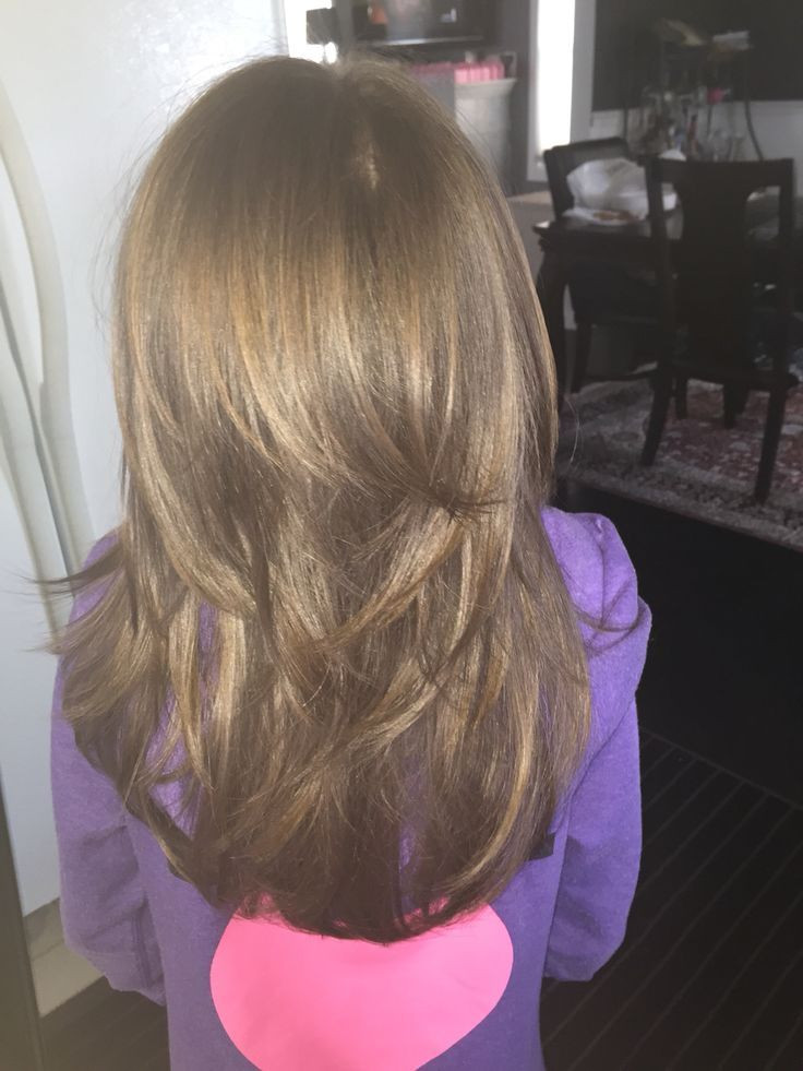 How To Cut Little Girl Hair  cool Little Girls Layered Haircut ️ Julie bug
