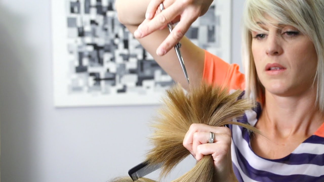 Best ideas about How To Cut Mens Long Hair With Scissors . Save or Pin How to cut Soft Layers in Long Hair Women s Haircuts Now.