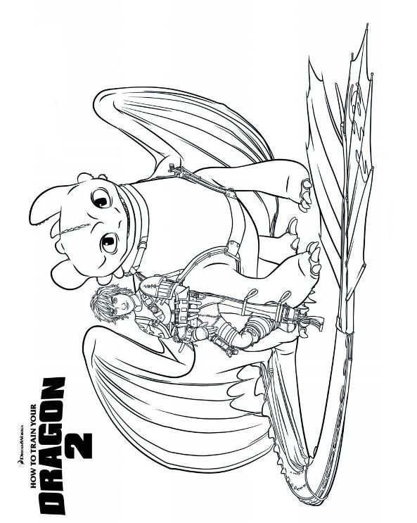 Best ideas about How To Train Your Dragon Coloring Sheets For Girls . Save or Pin Ausmalbild Drachenzähmen leicht gemacht 2 hiccup Now.