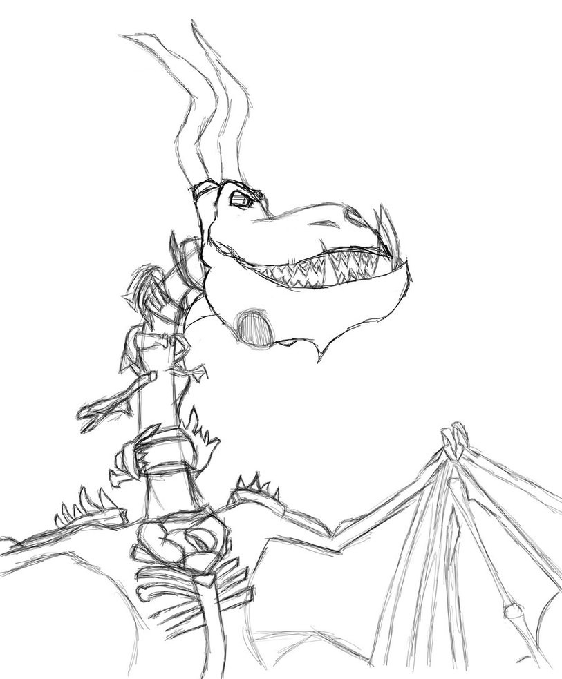 Best ideas about How To Train Your Dragon Coloring Sheets For Girls . Save or Pin BoneNapper Sketch by Twilightzonegirl13 on DeviantArt Now.