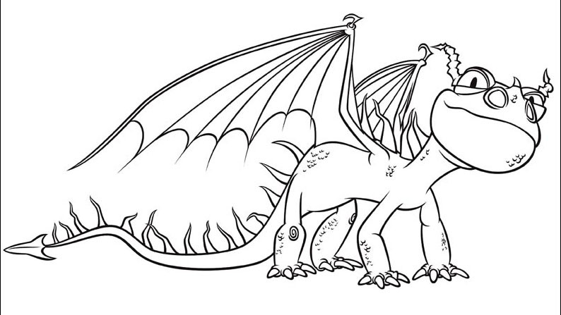 Best ideas about How To Train Your Dragon Coloring Sheets For Girls . Save or Pin How to train your dragon coloring pages nadder ColoringStar Now.