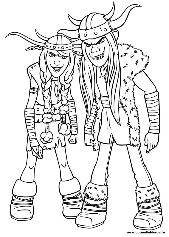 Best ideas about How To Train Your Dragon Coloring Sheets For Girls . Save or Pin Drachenzähmen leicht gemacht malvorlagen Now.