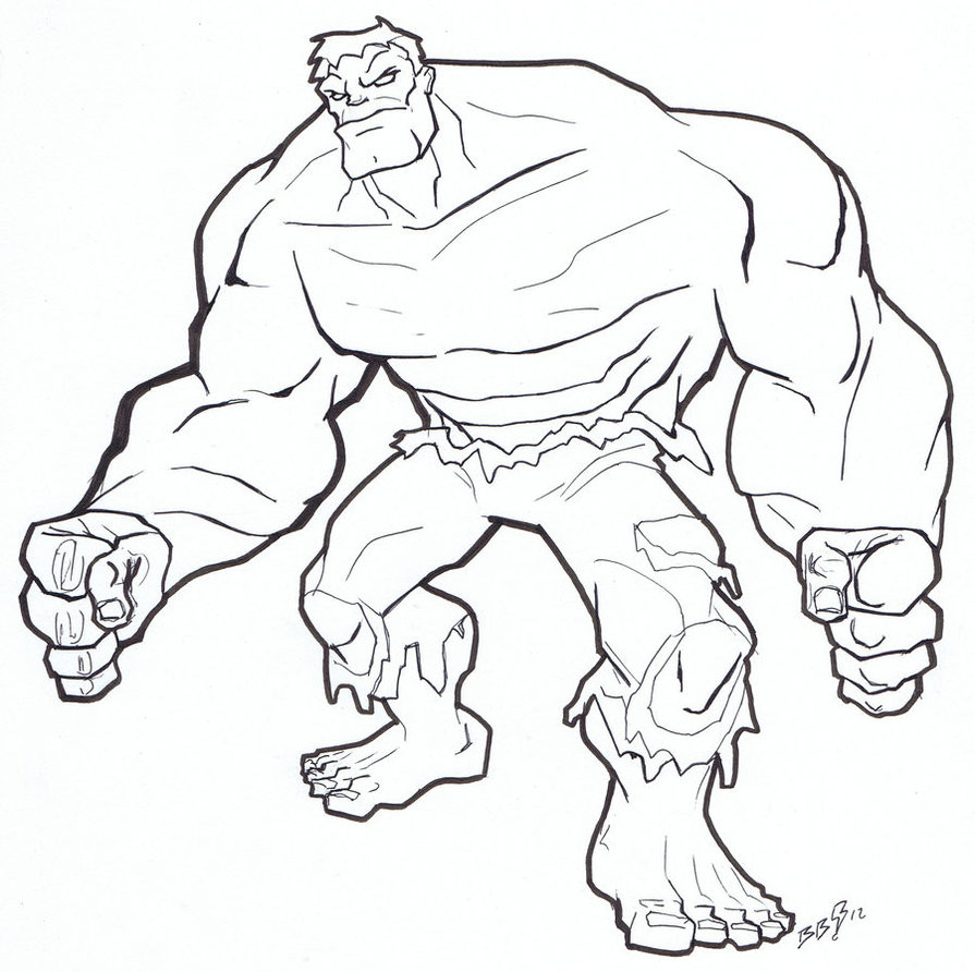 Best ideas about Hulk Printable Coloring Pages . Save or Pin Free Printable Hulk Coloring Pages For Kids Now.