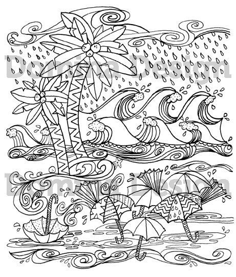 Hurricane Coloring Pages  13 best Tricia Griffith Coloring Pages images on Pinterest