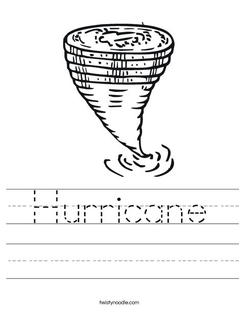 Hurricane Coloring Pages  All Worksheets Hurricane Worksheets Printable