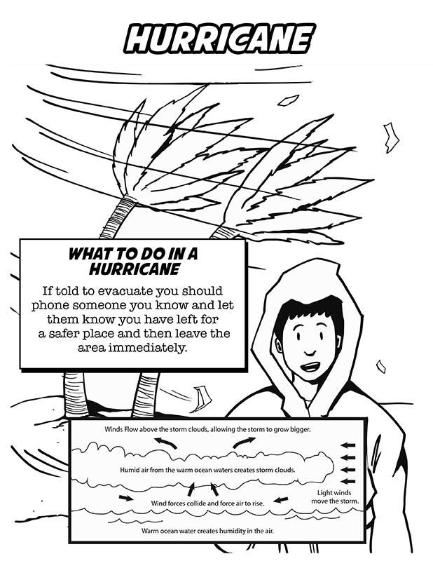 Hurricane Coloring Pages  Hurricane Coloring Pages For Kids Printable Hurricane