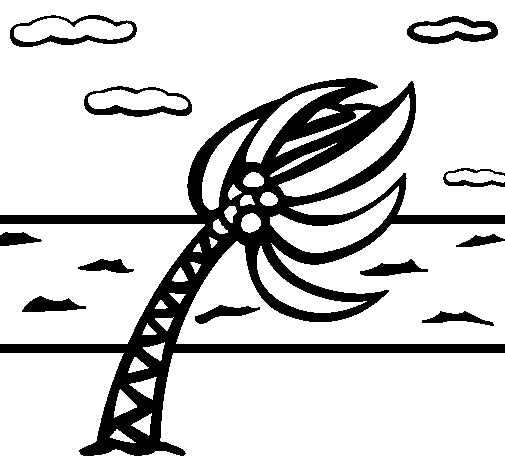 Hurricane Coloring Pages  Colored page Hurricane painted by hurricane
