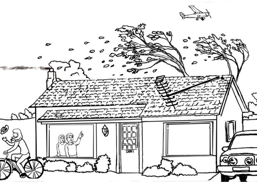 Hurricane Coloring Pages  Coloring page hurricane img 7882