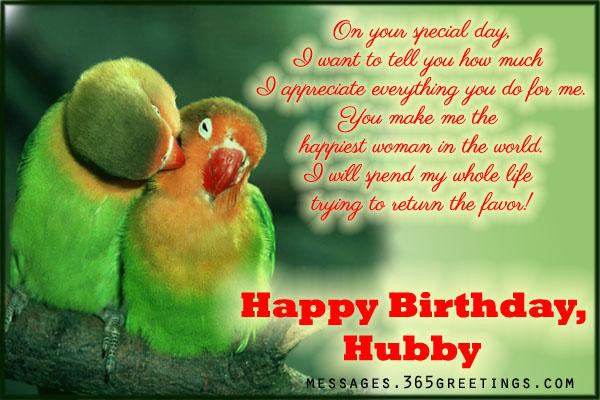 Best ideas about Husband Birthday Quotes From Wife . Save or Pin Birthday Wishes for Husband 365greetings Now.