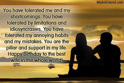Best ideas about Husband Birthday Quotes From Wife . Save or Pin Birthday Wishes For Wife Now.
