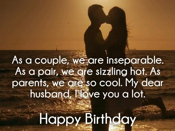 Best ideas about Husband Birthday Quotes From Wife . Save or Pin ROMANTIC BIRTHDAY QUOTES FOR WIFE FROM HUSBAND image Now.