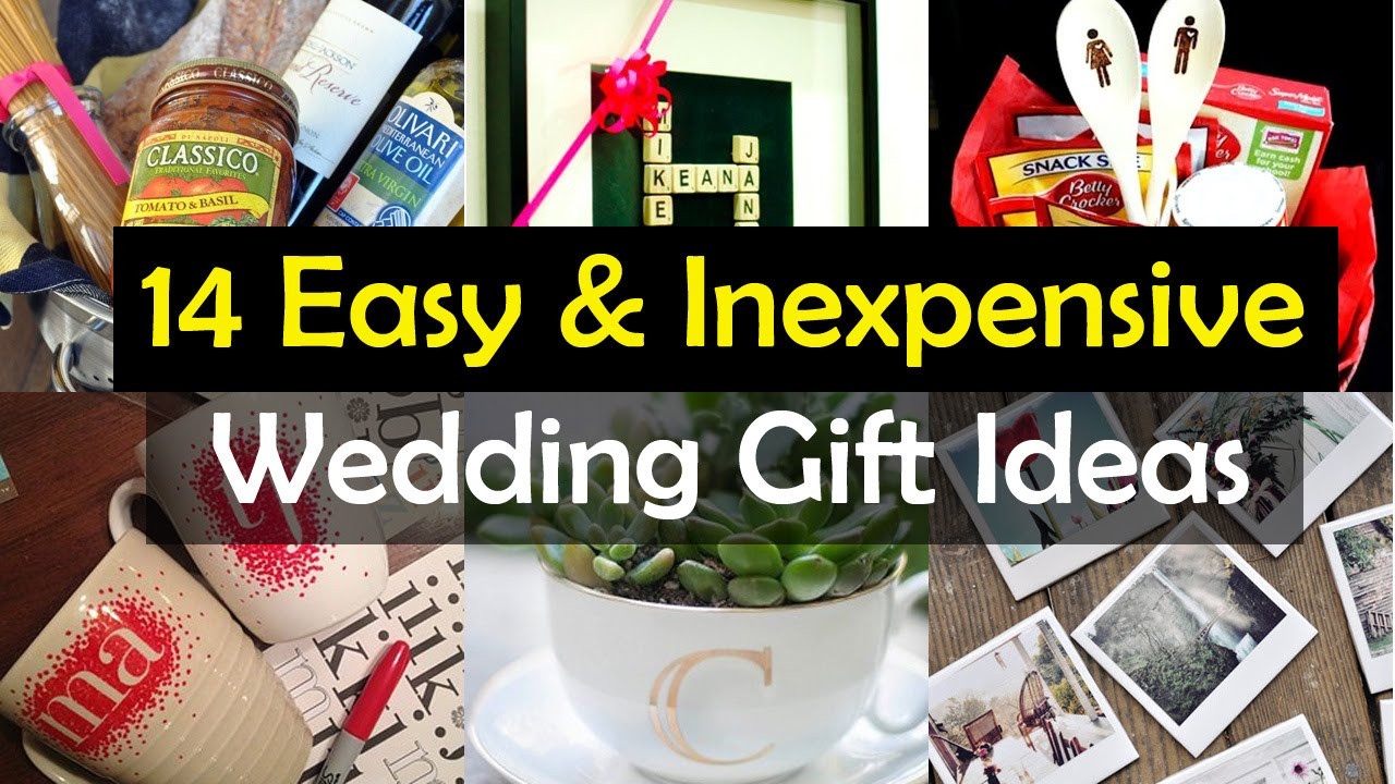 Best ideas about Ideas For A Wedding Gift . Save or Pin 14 Awesome Wedding Gift Ideas Now.