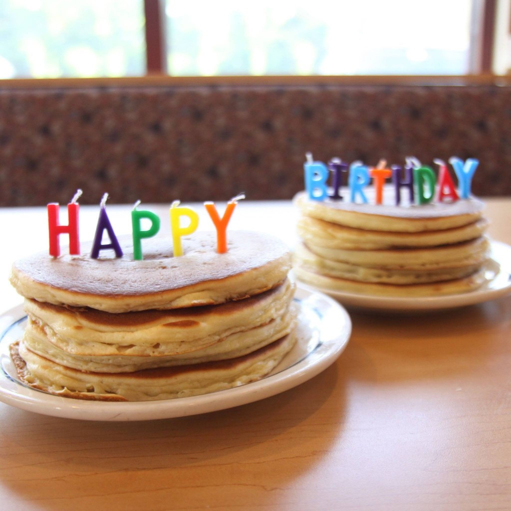 Ihop Birthday Cake Pancakes  birthday pancakes ihop