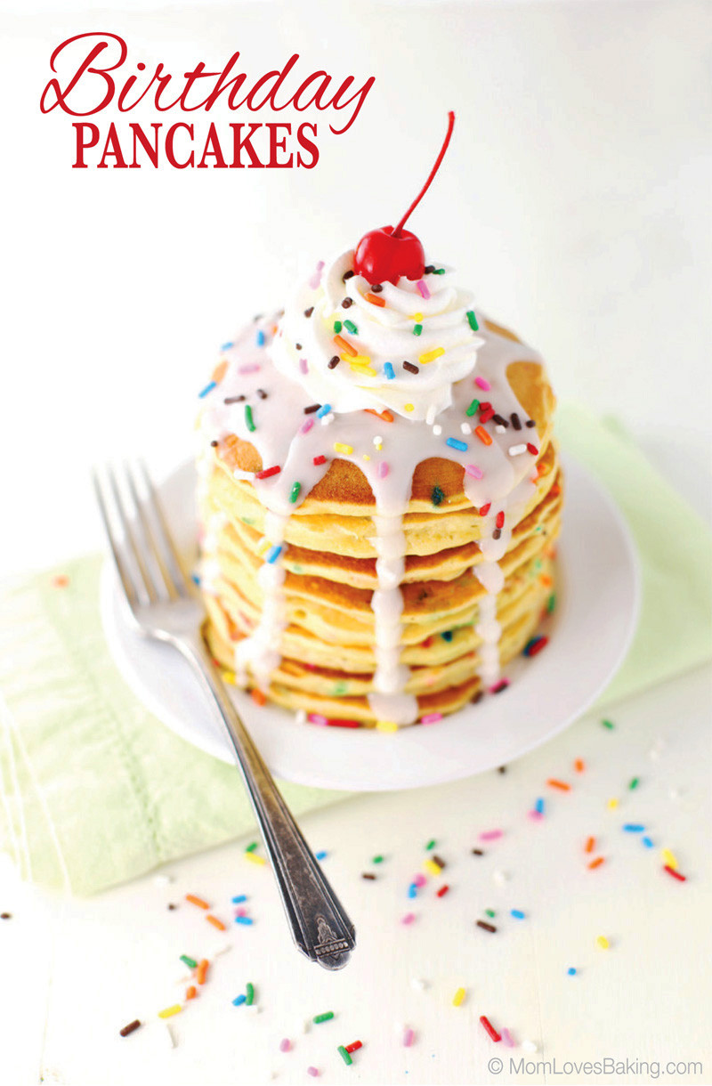 Ihop Birthday Cake Pancakes  Birthday Pancakes Mom Loves Baking