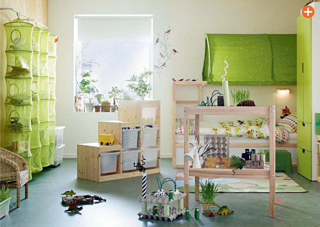 Best ideas about Ikea Kids Room . Save or Pin green kids room ikea Now.