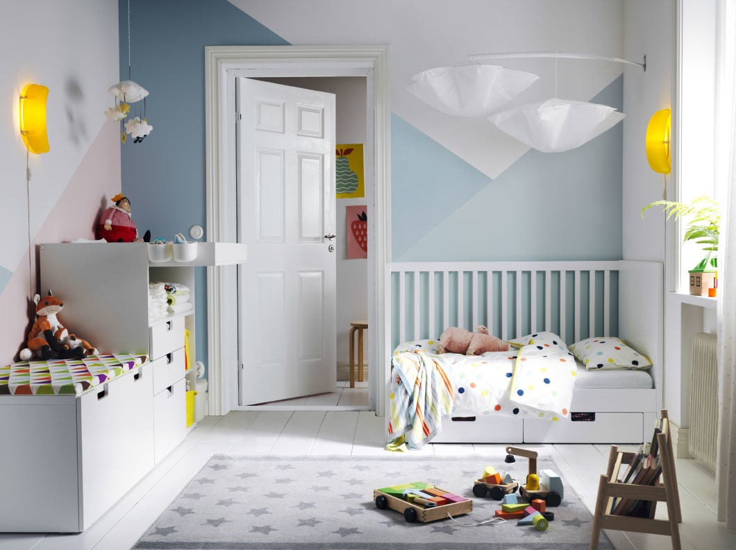 Best ideas about Ikea Kids Room . Save or Pin A fresh look for a first bedroom IKEA Now.