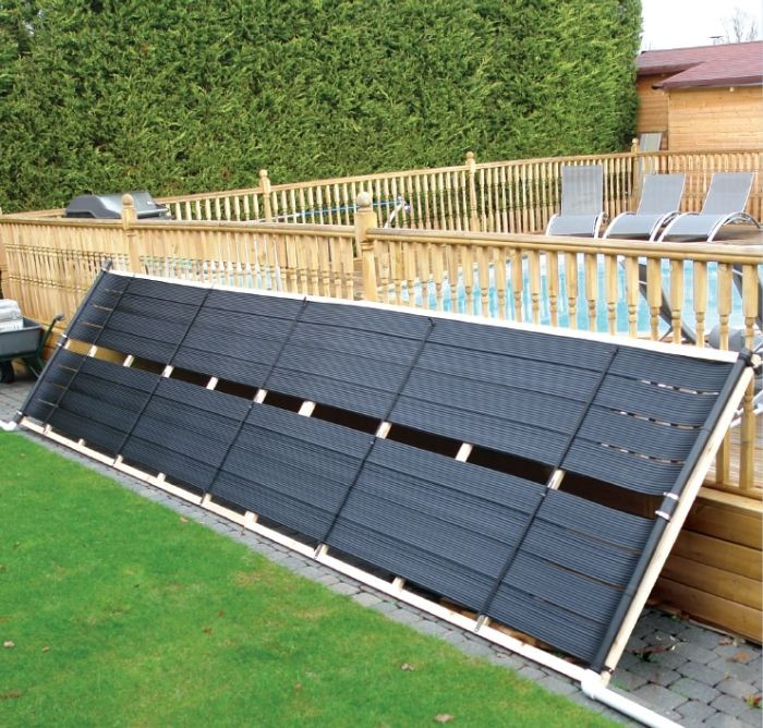 Best ideas about In Ground Pool Solar Heaters . Save or Pin Solar Pool Heating Kit For In Ground Pools Pool Heating Now.
