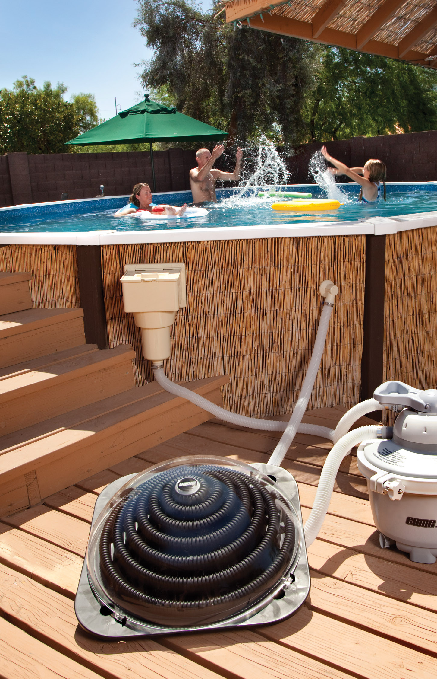 Best ideas about In Ground Pool Solar Heaters . Save or Pin Sun2Solar Deluxe Ground Solar Heater XD1 Now.