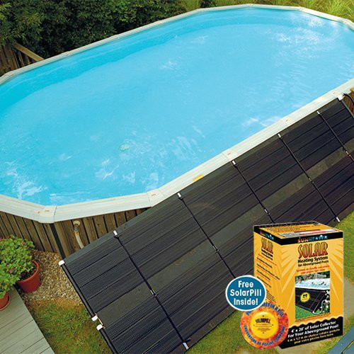 Best ideas about In Ground Pool Solar Heaters . Save or Pin Smartpool WWS421P Sunheater Solar Pool Heater for Now.