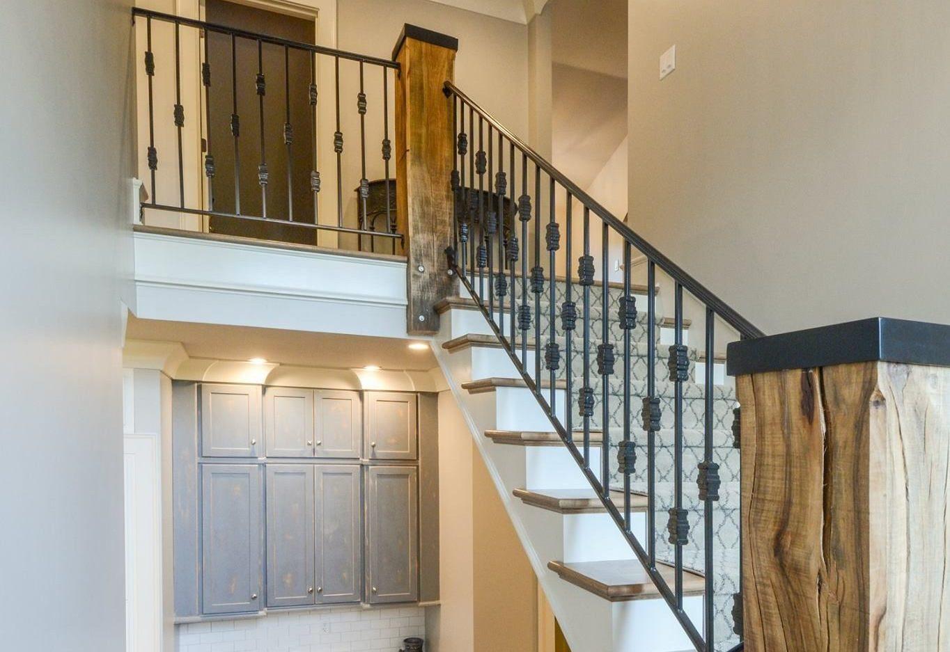 Best ideas about Indoor Stair Railings . Save or Pin Custom Metal Stair Railings Louisville Ky Now.
