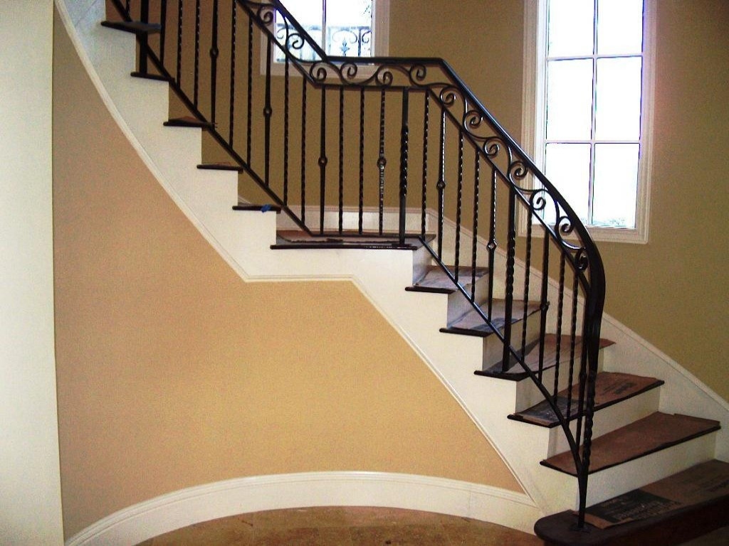 Best ideas about Indoor Stair Railings . Save or Pin Luxury Indoor Stair Railings Design — Railing Stairs and Now.