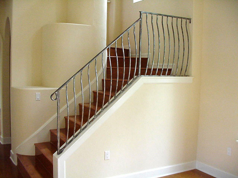 Best ideas about Indoor Stair Railings . Save or Pin Interior Railing Metal fabrication aluminum fabrication Now.