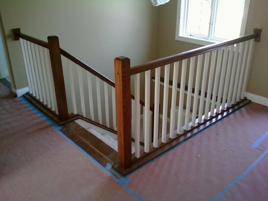 Best ideas about Indoor Stair Railings . Save or Pin Indoor Stair Railing Installation Now.
