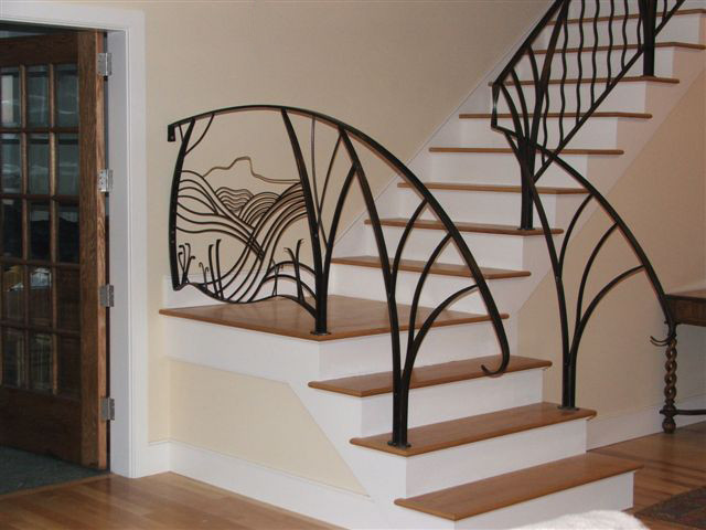 Best ideas about Indoor Stair Railings . Save or Pin Awesome Interior Stair Railing Kits Now.