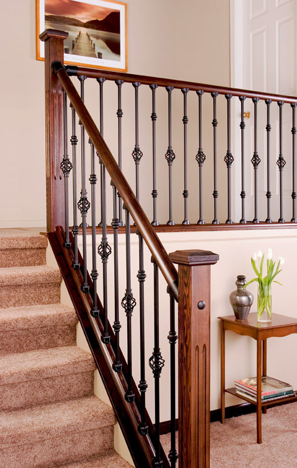 Best ideas about Indoor Stair Railings . Save or Pin Interior Railing Kits Now.