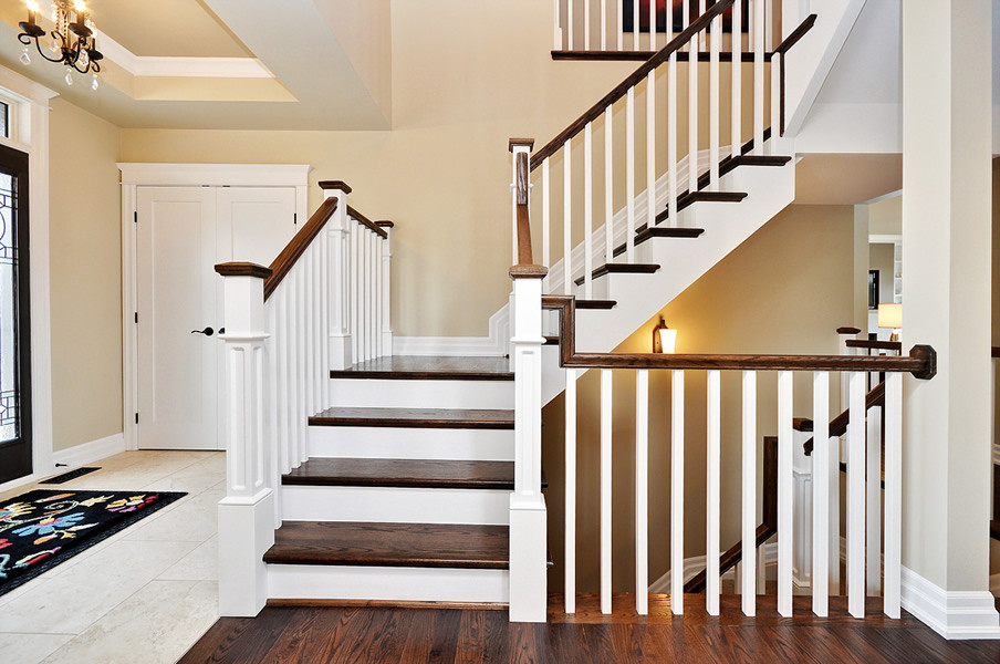 Best ideas about Indoor Stair Railings . Save or Pin Beautiful Stair Railings Interior Design Ideas Now.