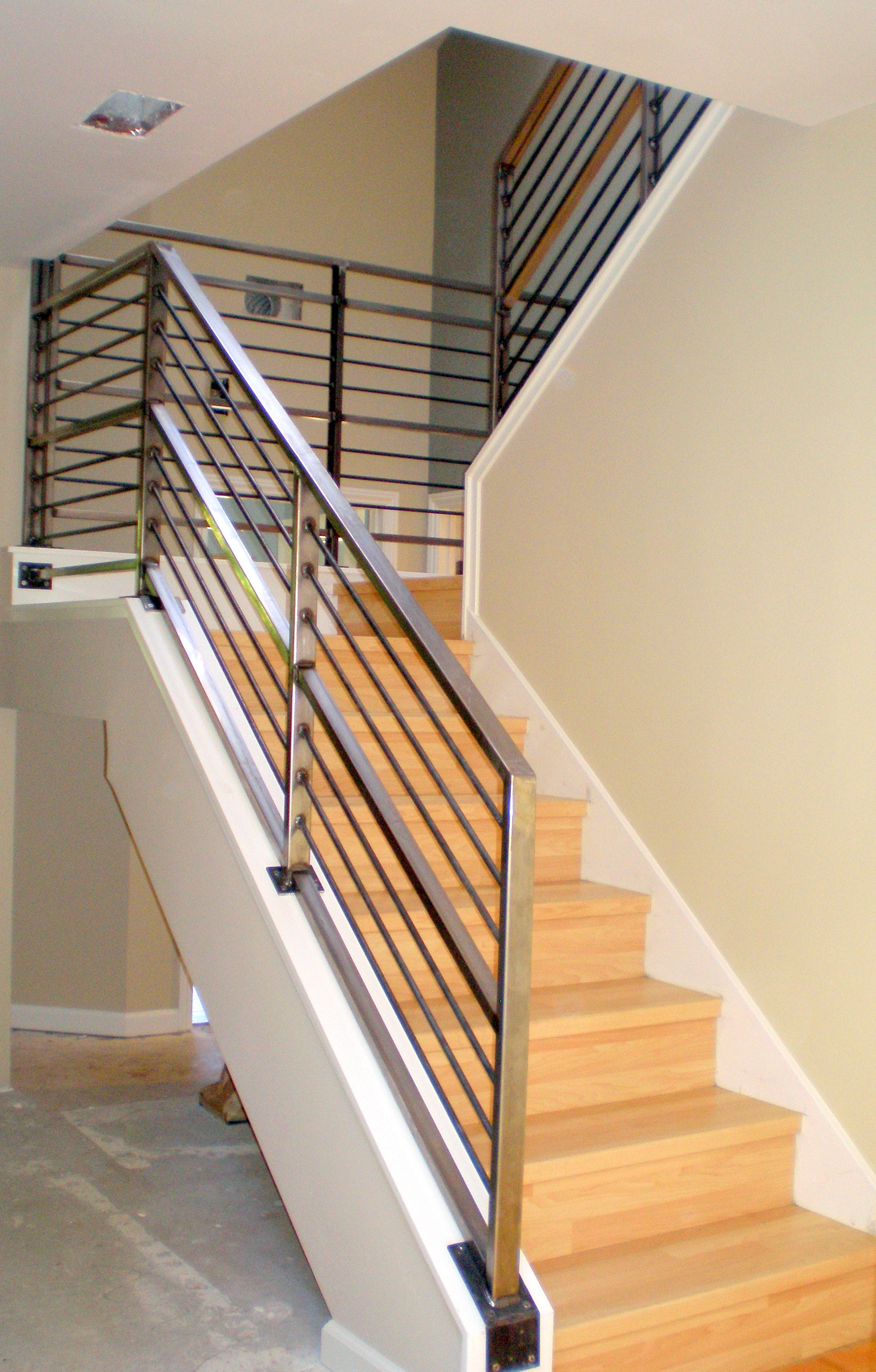 Best ideas about Indoor Stair Railings . Save or Pin Stair Adorable Modern Stair Railings To Inspire Your Own Now.