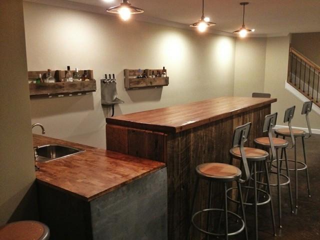 Best ideas about Industrial Basement Ideas . Save or Pin Grant Bar Industrial Basement Nashville by Ausden Inc Now.