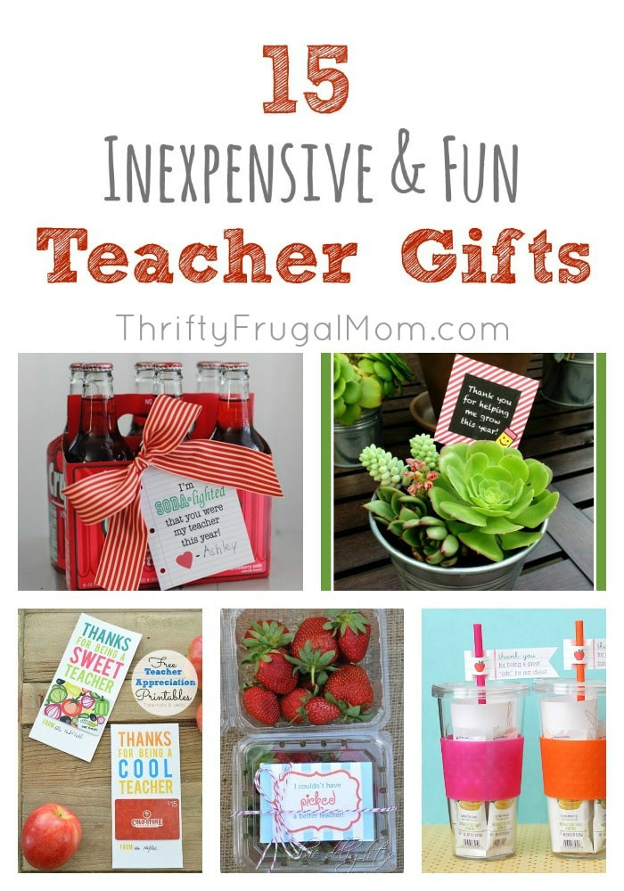 Inexpensive Thank You Gift Ideas  End of The Year Gift Ideas For Teachers – Its a Wahm Life