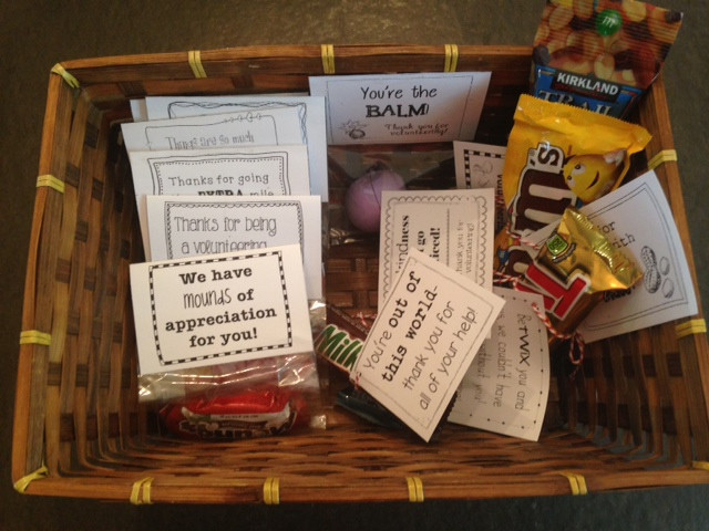 Inexpensive Thank You Gift Ideas For Volunteers  Volunteer Thank You Gifts Sprout Classrooms
