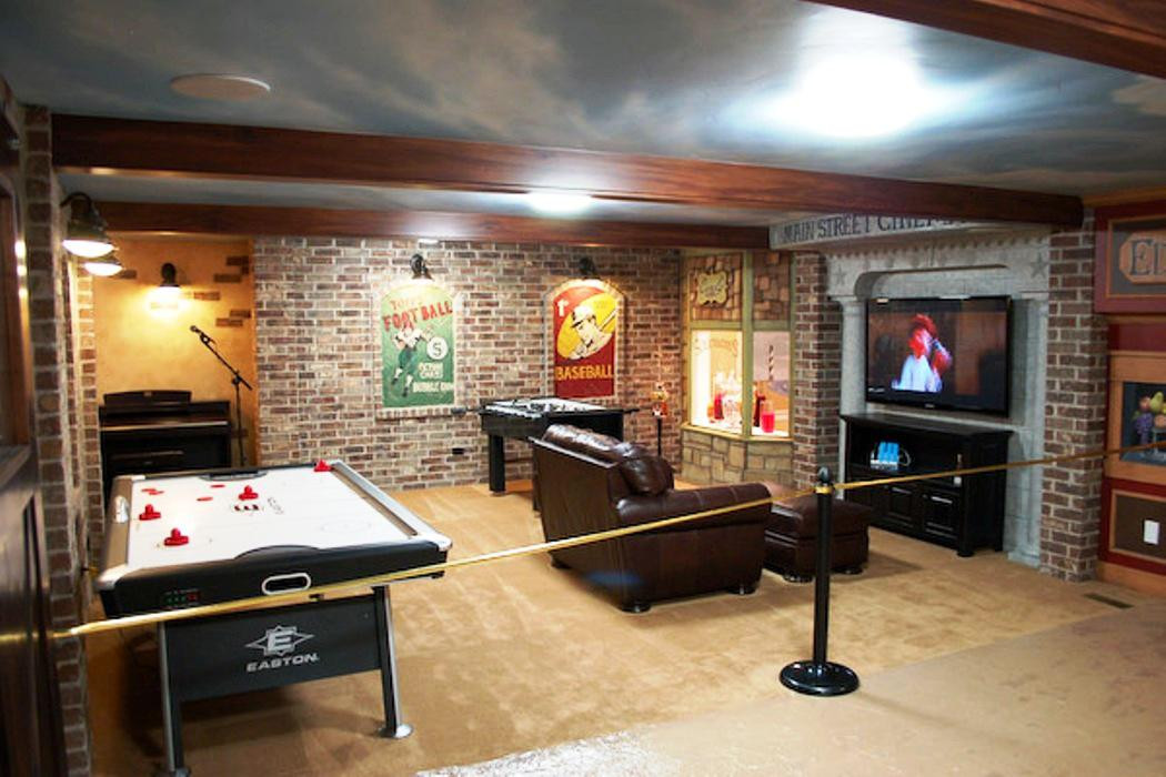 Best ideas about Inexpensive Unfinished Basement Ideas . Save or Pin inexpensive unfinished basement ideas Unfinished Now.