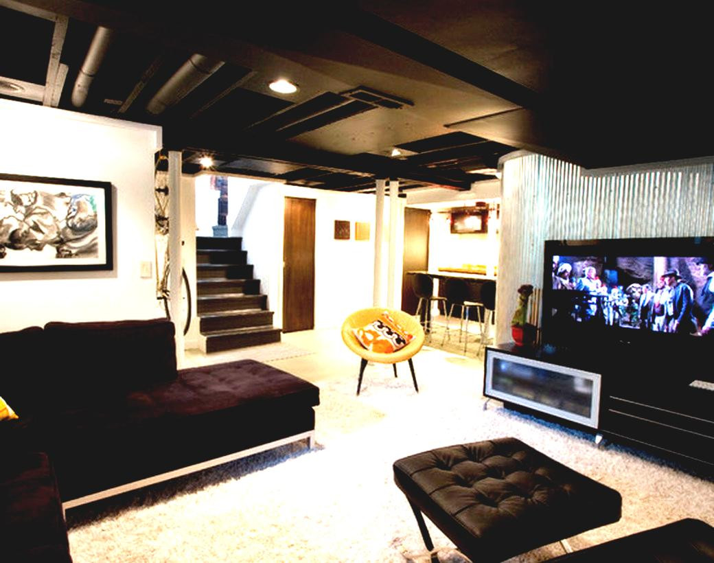 Best ideas about Inexpensive Unfinished Basement Ideas . Save or Pin The Man Cave Five In Tow Now.