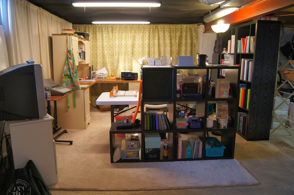 Best ideas about Inexpensive Unfinished Basement Ideas . Save or Pin Basement ideas kids hgtv small basement ideas small Now.