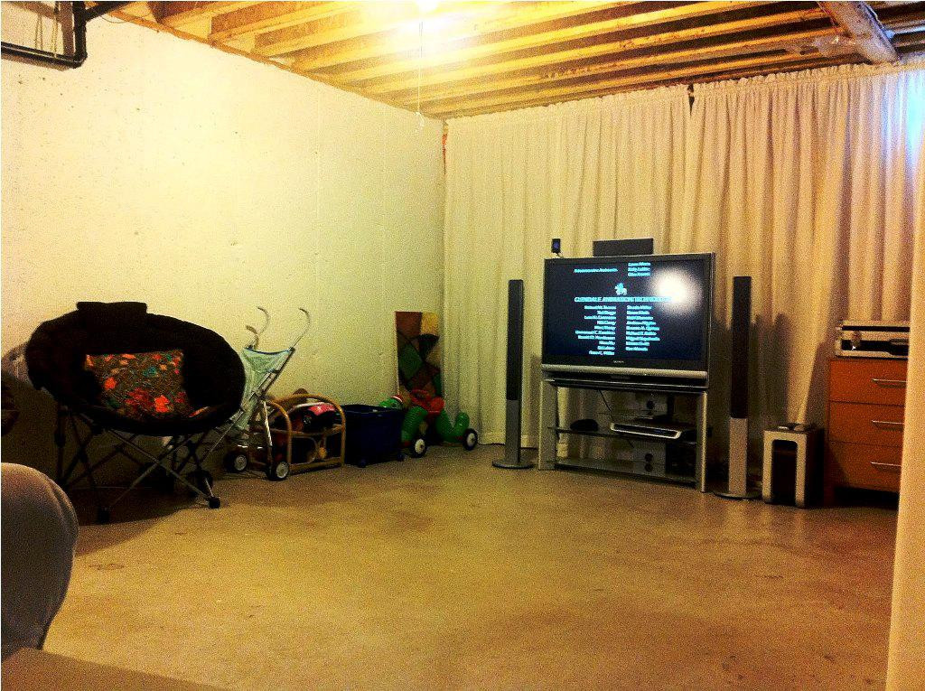 Best ideas about Inexpensive Unfinished Basement Ideas . Save or Pin Unfinished Basement Ideas to Make More fortable Now.