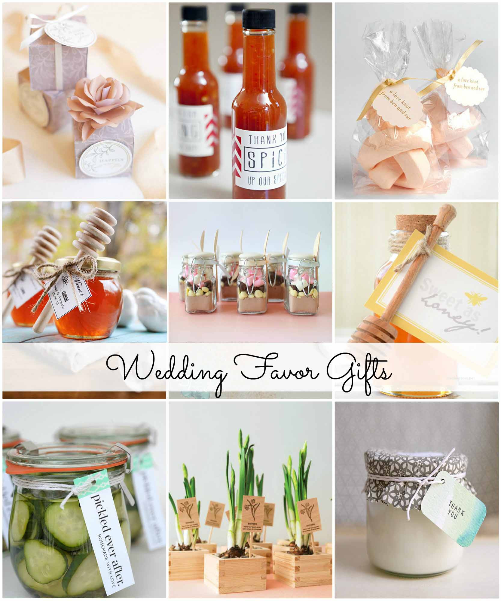 Inexpensive Wedding Gift Ideas  Popular Inexpensive Wedding Favors For Your Guests