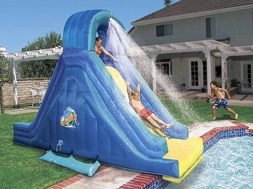 Best ideas about Inflatable Pool Slides For Inground Pools . Save or Pin Best 25 Pool slides ideas on Pinterest Now.