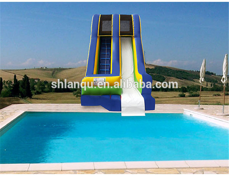 Best ideas about Inflatable Pool Slides For Inground Pools . Save or Pin Inflatable Water Pool Slides For Inground Pools Buy Now.