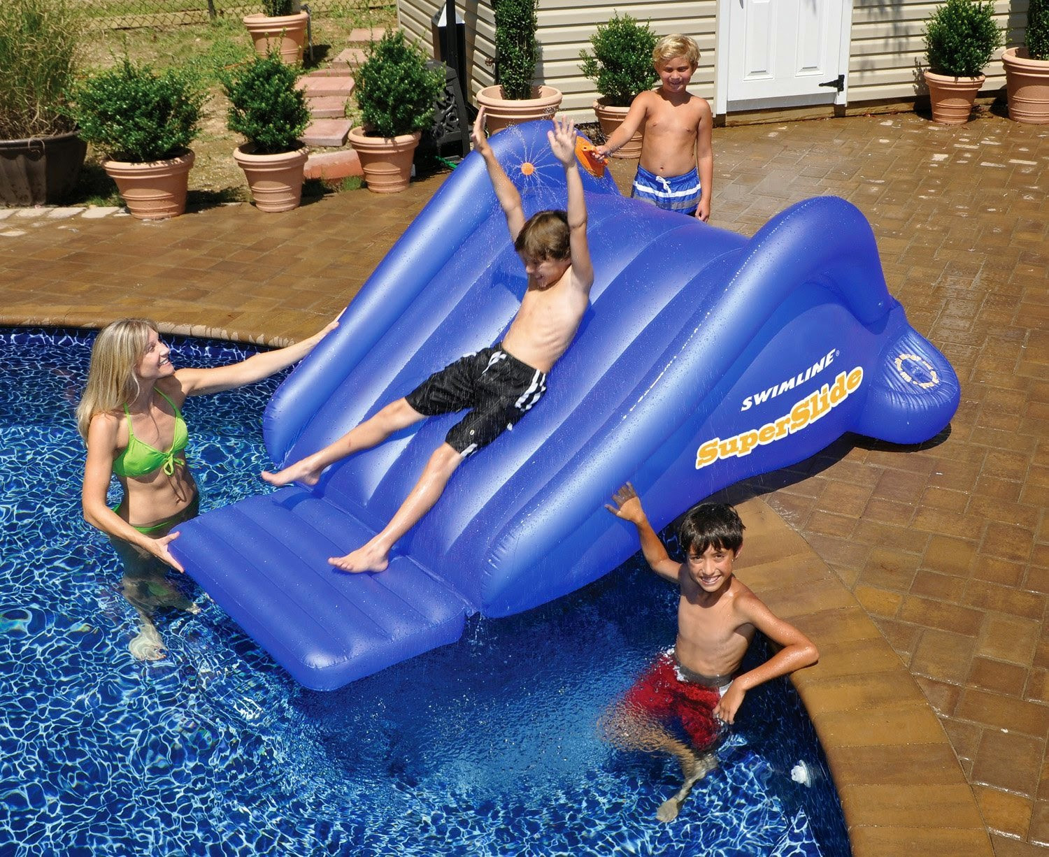Best ideas about Inflatable Pool Slides For Inground Pools . Save or Pin inflatable pool slides inflatable pool slides for Now.