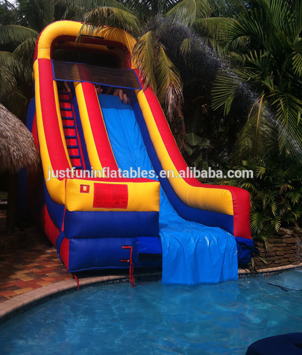 Best ideas about Inflatable Pool Slides For Inground Pools . Save or Pin Customized Inflatable Pool Slides For Inground Pools Now.