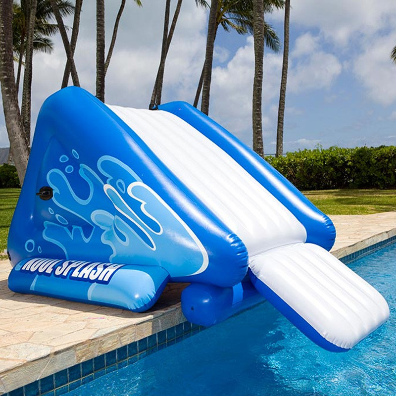 Best ideas about Inflatable Pool Slides For Inground Pools . Save or Pin Intex Inflatable Slide In Ground Swimming Pool Toy Now.