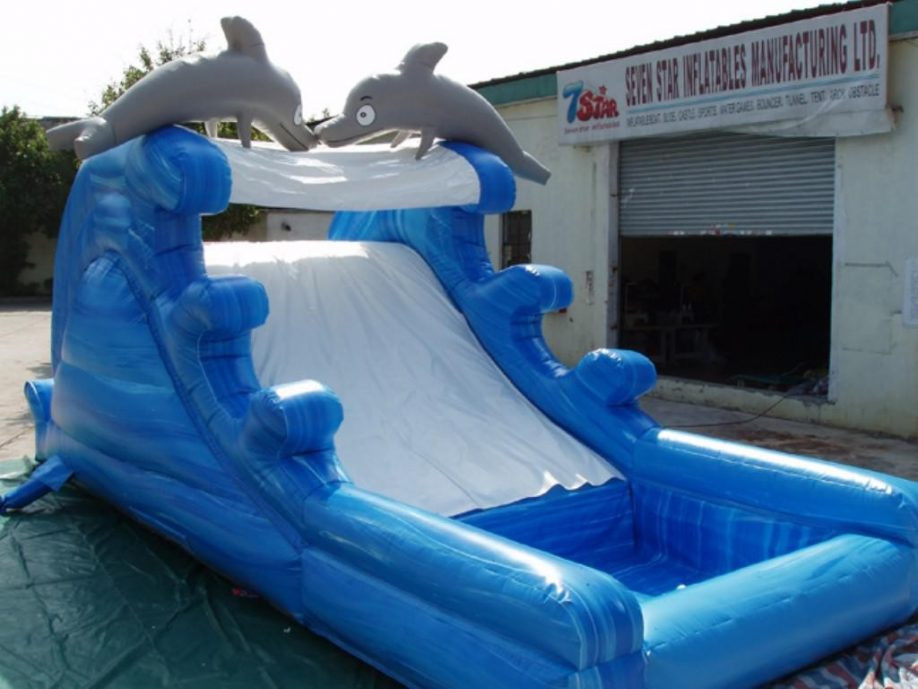 Best ideas about Inflatable Pool Slides For Inground Pools . Save or Pin Ground Pools Blow Up Pool Slides For Inground Used Now.